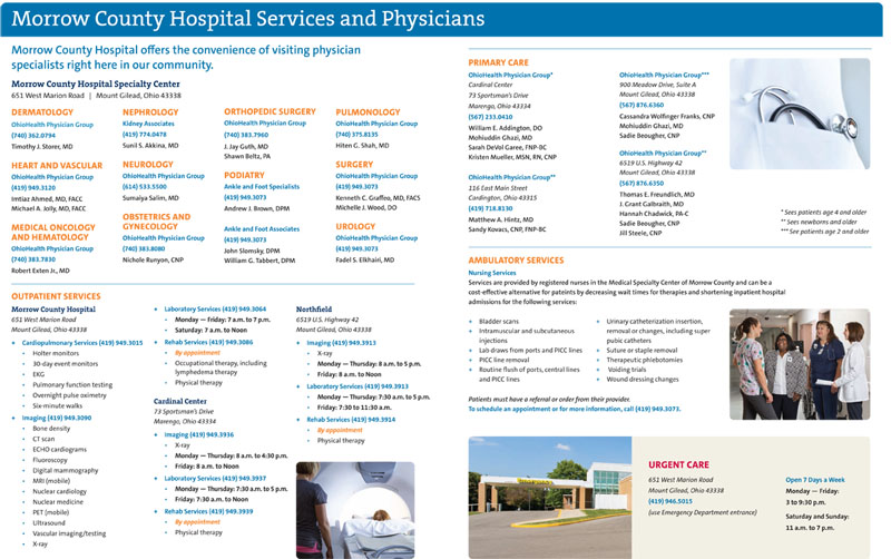 Click to view page 2 of MCH Services Brochure