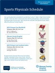 Free Sports Physicals for Morrow County Students!