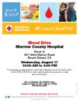 Blood Drive at Morrow County Hospital