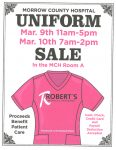 Robert's Medical Uniform Sale