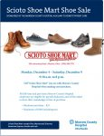 Scioto Shoe Mart shoe sale begins December 4!