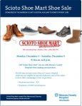 Scioto Shoe Mart shoe sale begins December 4!