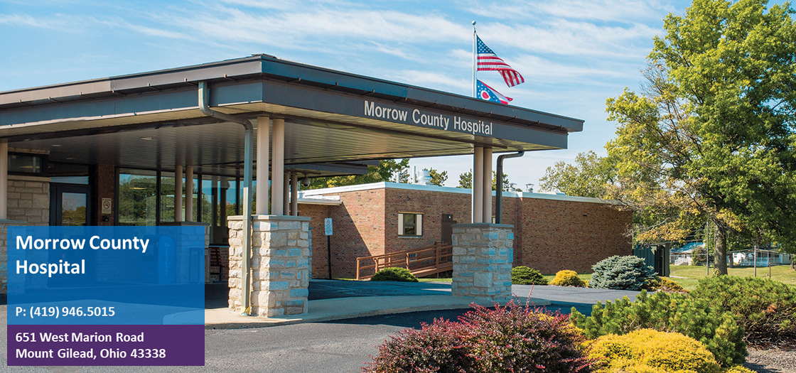 morrow county hospital compassionate personalized high tech care