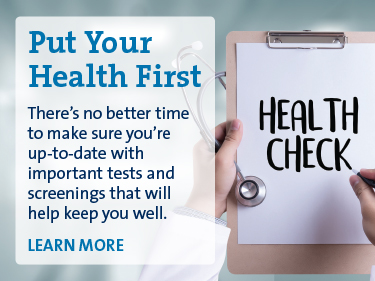 Put Your Health First